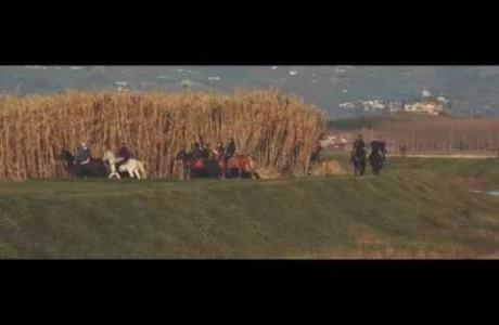 A cavallo sulla Via Francigena