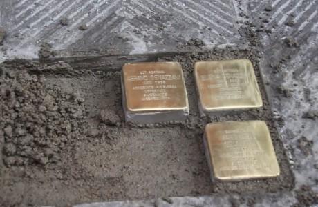 A Firenze, le prime pietre d'inciampo