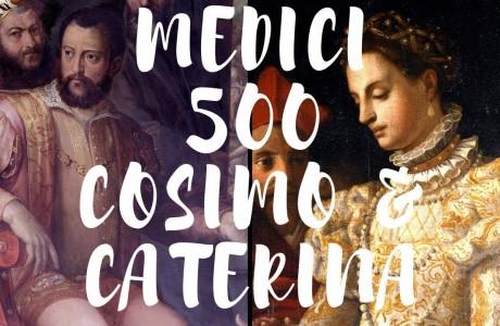 Al via le celebrazioni per i 500 anni di Cosimo e Caterina de' Medici