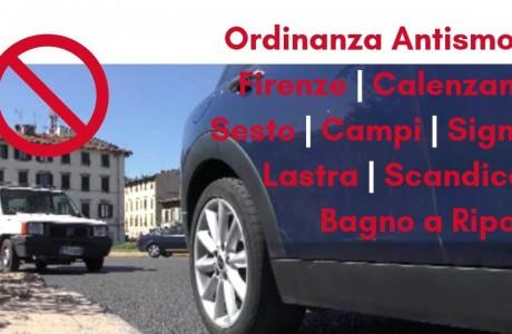 Aria, ordinanza antismog a Firenze e nell'agglomerato urbano