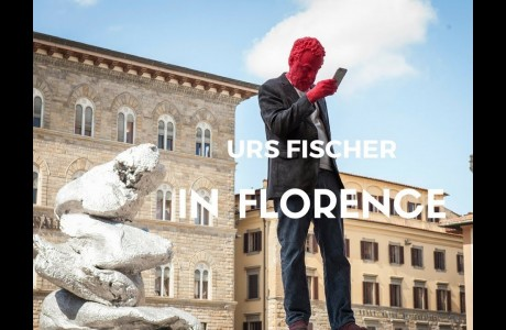 "Arte contemporanea, Urs Fischer ""In Florence"""