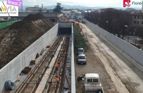 Aspettando #tramviaFI: #girocantieri n° 20 | DRONE!