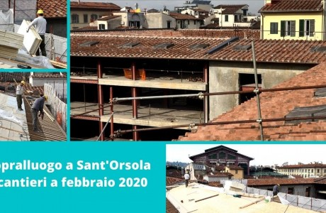 Avanzamento lavori Sant'Orsola al 19 febbraio 2020