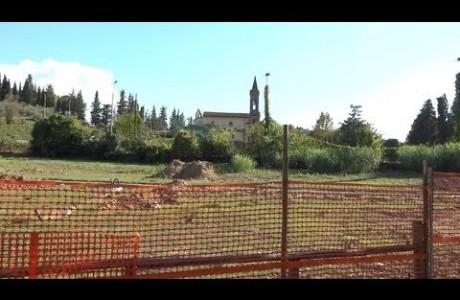 Avanzano i lavori del nuovo Parco Urbano di Grassina