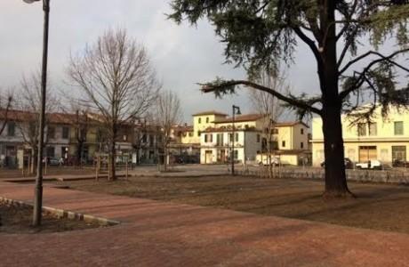 """Bando periferie, inaugurata la """"nuova"""" piazza Gramsci a Campi Bisenzio"""