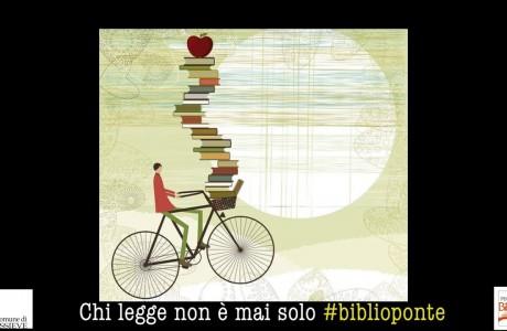 Biblioponte: chi legge non è mai solo