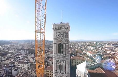 Campanile di Giotto dall'alto