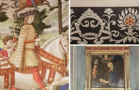 Cappella dei Magi di Benozzo Gozzoli | Palazzo Medici Riccardi Firenze