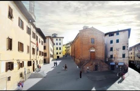 Castelfiorentino, iniziati i lavori in Piazza del Popolo