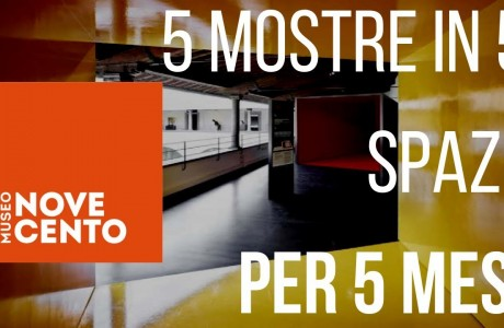 Cinque spazi per altrettante mostre al Museo Novecento di Firenze