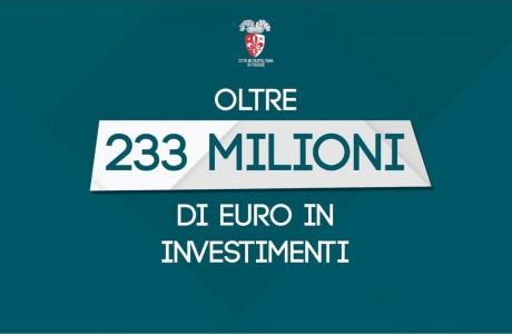 Città Metro Firenze: scuole, strade, viabilità in oltre 230 milioni di euro d' investimenti