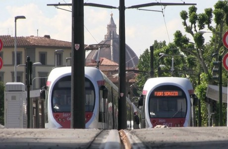 Collaudi tramvia Firenze Fortezza-Careggi