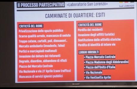 Come procede il processo partecipativo per la riqualificazione di Sant'Orsola e di San Lorenzo?