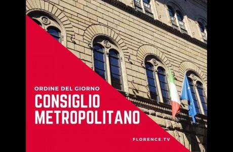Consiglio Città metropolitana, l'ordine del giorno