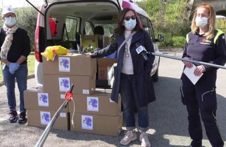 Coronavirus e solidarietà: alla Protezione Civile le colombe della Fondazione Tommasino Bacciotti