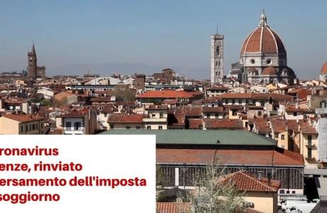 Coronavirus Firenze, rinviato il versamento dell'imposta di soggiorno