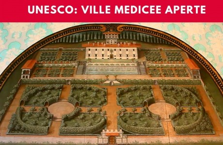 Dentro le Ville Medicee in fiore