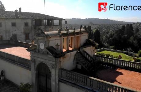 DRONE | Fuori Firenze: le Signe dal cielo!