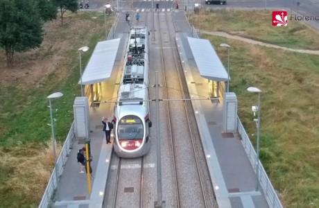 Drone, il risveglio di Firenze con la nuova T1 della tramvia