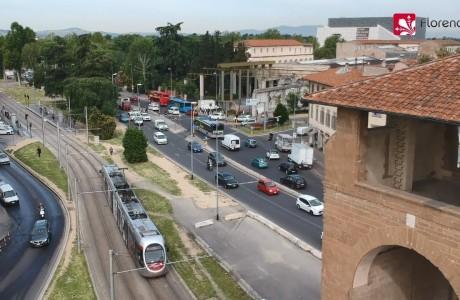 DRONE | Il tracciato della futura Linea 4 della tramvia Leopolda-Piagge
