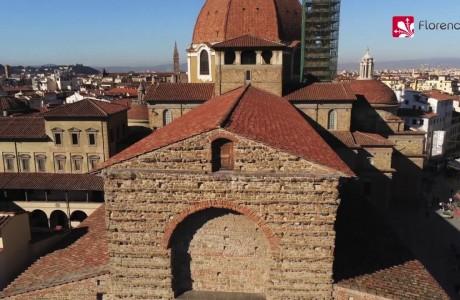 DRONE | In volo su San Lorenzo a Firenze