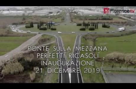 DRONE | Inaugurato il Ponte sulla Mezzana Perfetti Ricasoli
