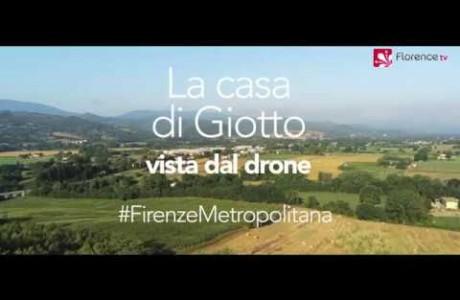 DRONE | La casa di Giotto a Vespignano/Vicchio
