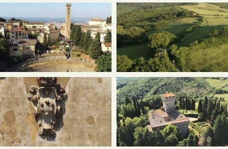 DRONE | La Via degli Dei, la tratta fiorentina