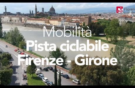 DRONE | Mobilità: la pista ciclabile Firenze/Girone