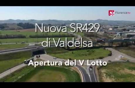Drone: SR429, apertura del V Lotto