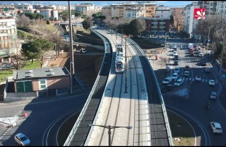 DRONE – Tramvia Firenze: volo sulla linea T2 Vespucci
