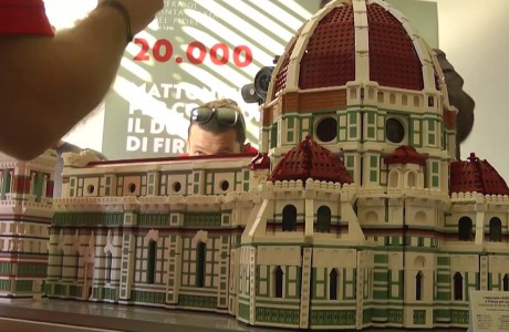 Duomo di Firenze costruito con i LEGO