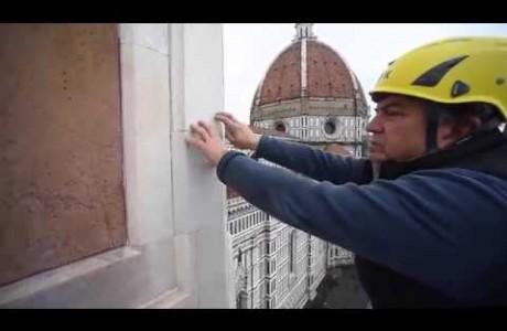 Duomo Firenze, monitoraggio facciate esterne 2017