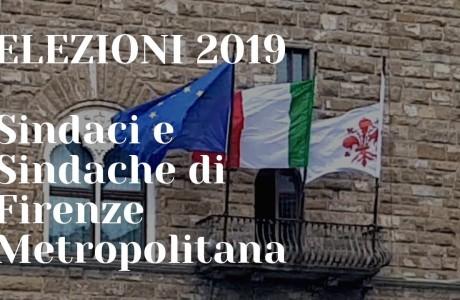 Elezioni 2019 Firenze, i Sindaci dei Comuni