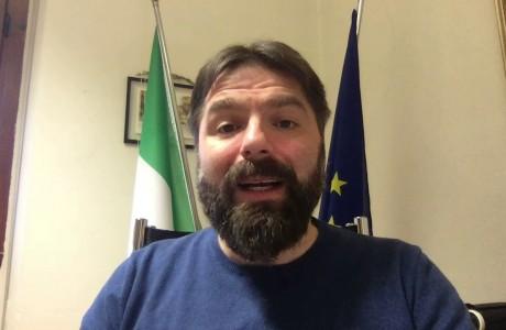 EMERGENZA SANITARIA CORONAVIRUS: videomessaggio di Stefano Passiatore