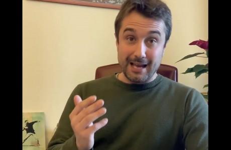 EMERGENZA SANITARIA CORONAVIRUS: videomessaggio di Lorenzo Falchi