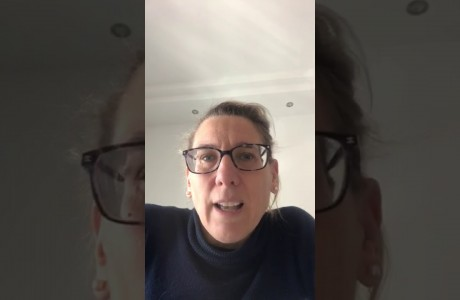 EMERGENZA SANITARIA CORONAVIRUS: videomessaggio di Simona Rossetti
