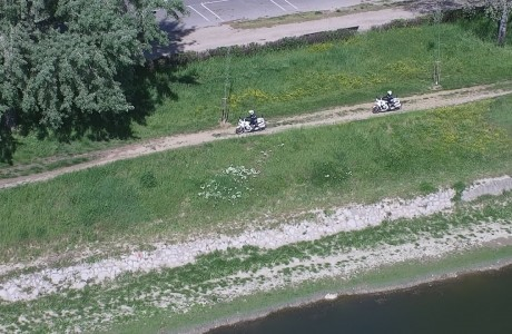 EMERGENZA SANITARIA CORONAVIRUS: Lungarni e parchi controllati con i droni della Città Metropolitana