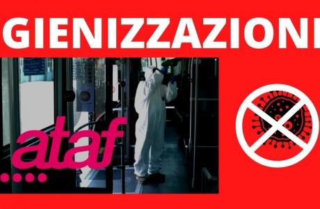 Emergenza sanitaria Coronavirus: come vengono igienizzati i mezzi ATAF?