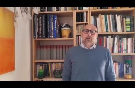 EMERGENZA SANITARIA CORONAVIRUS: videomessaggio di Sandro Fallani