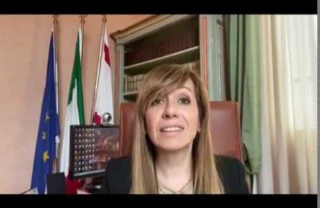 EMERGENZA SANITARIA CORONAVIRUS: videomessaggio di Monica Marini