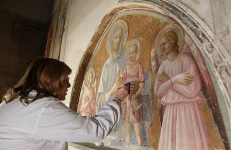 Empoli, restaurato con l'Art Bonus affresco di Masolino