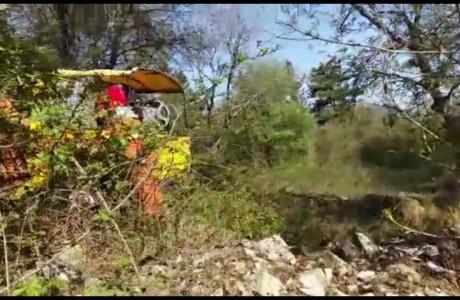Esercitazione Protezione Civile sul Monte Morello e nel Parco di Monte San Michele