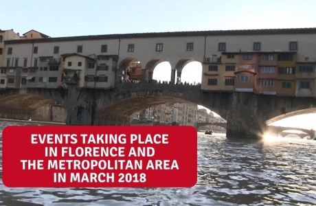 Events in Florence and the Metropolitan area in March 2018