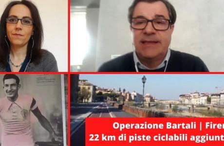 Fase 2, Operazione Bartali: a Firenze presto 22 km di piste ciclabili aggiuntive