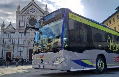 Firenze, arrivano 30 nuovi bus ibridi per Ataf