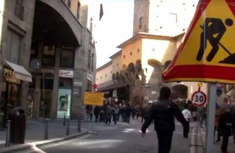 Firenze, cantieri tra Ponte Vecchio e via Guicciardini