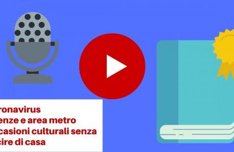 """Firenze, Coronavirus: la """"guida culturale nei giorni #iorestoacasa"""""""