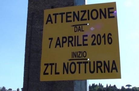 Firenze, da giovedì 7 aprile torna la ztl notturna estiva