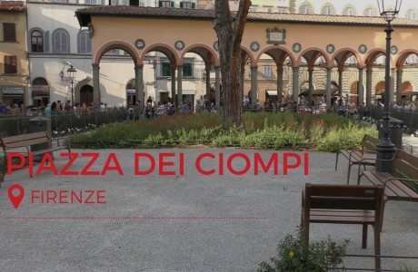 Firenze, finiti i lavori in Piazza dei Ciompi